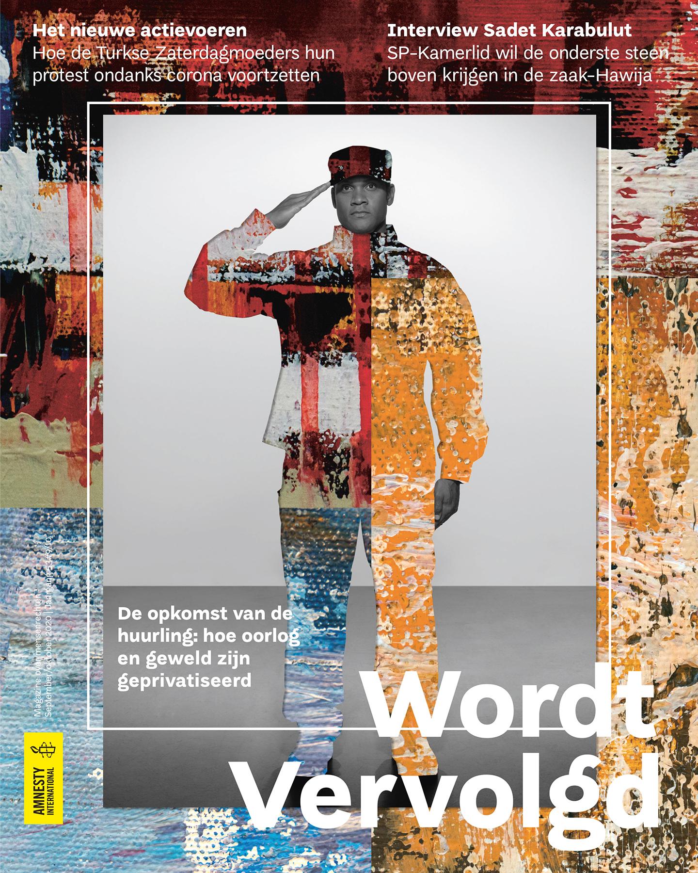Huurlingen - cover september 2020 wordt vervolgd © Astrid Anna van Rooij